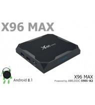 X96 Max 2Gb+16Gb S905X2 андроид медиаплеер