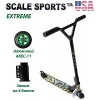 Самокат трюковый Scale Sports Extreme США черный ABEC-11