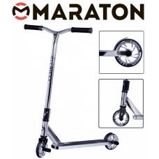 Самокат трюковый Maraton Chilli Серебро (Хром) 2021 + Пеги 2 шт