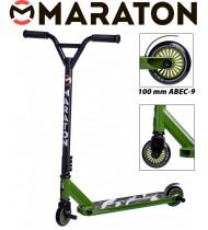 Самокат трюковый Maraton Extreme Хаки (без пег)