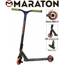 Самокат трюковый Maraton WarPrime камуфляж 2021 + Пеги 2 шт