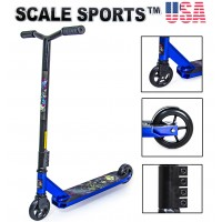Самокат трюковый Scale Sports Leone 110 mm USA синий