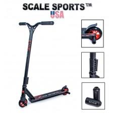 Самокат трюковый Scale Sports Storm США черный + Пеги 2 шт