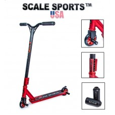 Самокат трюковый Scale Sports Storm США красный