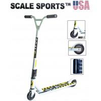Самокат трюковый Scale Sports Tornado США белый