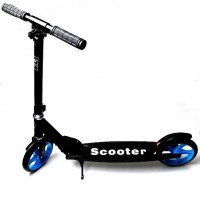 Самокат Smart Scooter City Black