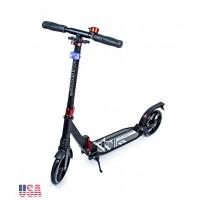 Самокат Scale Sports Elite Plus (ss-07) USA Черный ножной тормоз