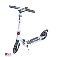 Самокат Scale Sports Elite Plus (ss-07) USA Белый ножной тормоз