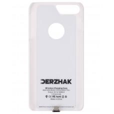 Чехол-адаптер для iPhone 6 Plus, 6S Plus, 7 Plus белый с функцией беспроводной зарядки