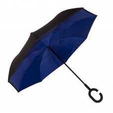 Зонт-трость Atlas обратного сложения Синий