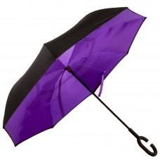 Зонт-трость Atlas обратного сложения Фиолетовый