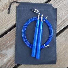 Скакалка скоростная Goods4u Metal Синяя Jump Rope с подшипником
