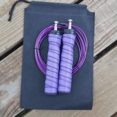 Скакалка скоростная полипропиленовая Goods4u Pro Фиолетовая Jump Rope с подшипником