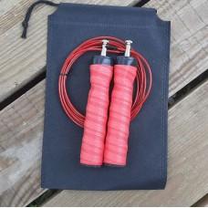 Скакалка скоростная полипропиленовая Goods4u Pro Красная Jump Rope с подшипником