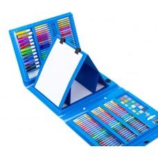 Набор для рисования Mega Art Set с мольбертом (176 предметов) Синий